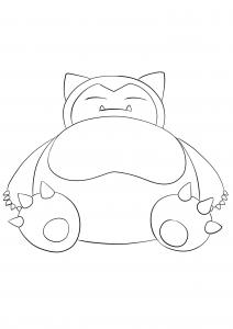 <b>Snorlax</b> (No.143) : Pokemon (Generation I)