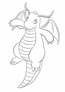 <b>Dragonite</b> (No.149) : Pokemon (Generation I)