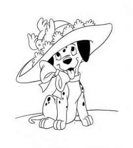 Coloring page 101 dalmatians to print