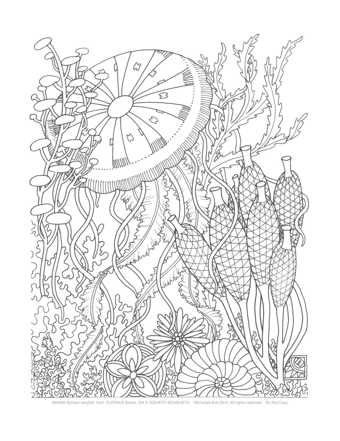 Simple Adult coloring page to print and color for free