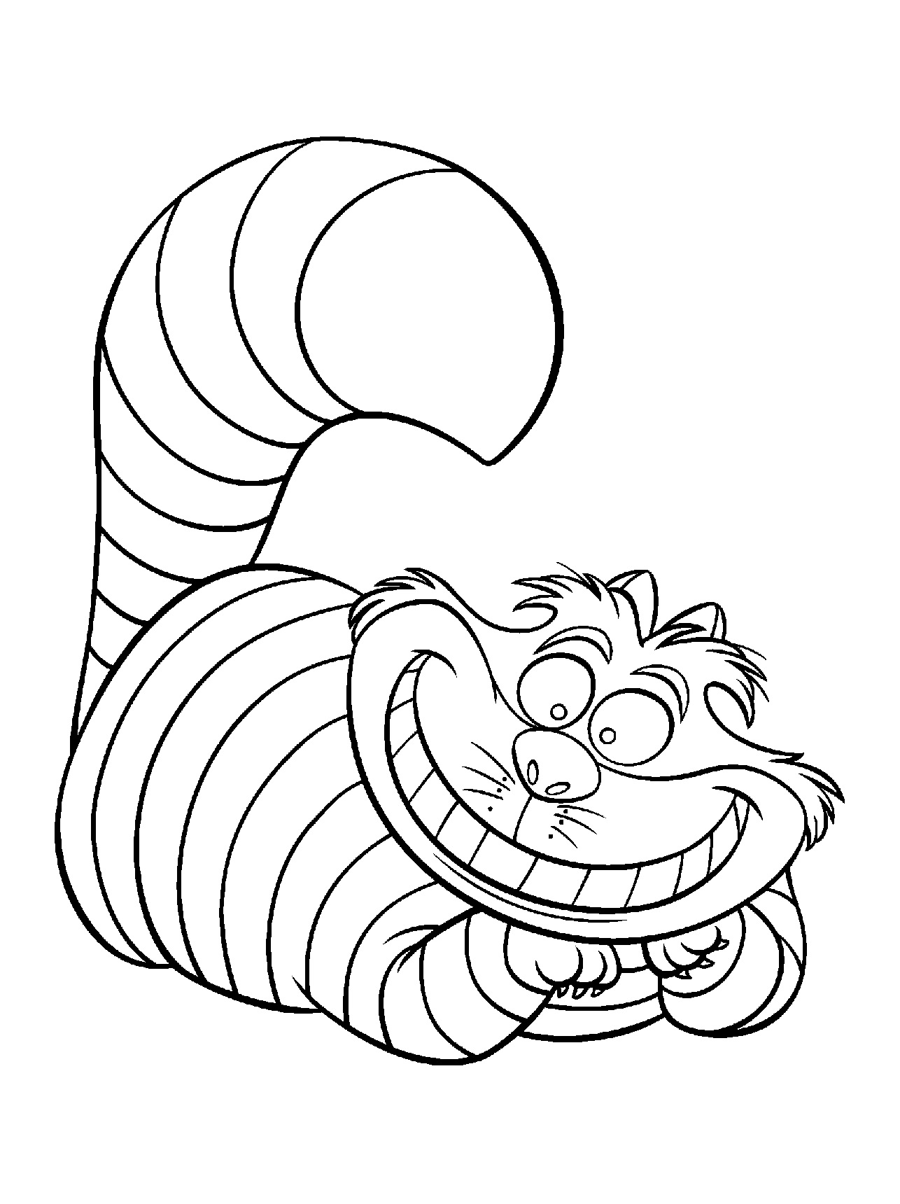 Alice To Download Alice Kids Coloring Pages