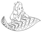 Alice Coloring Pages for Kids