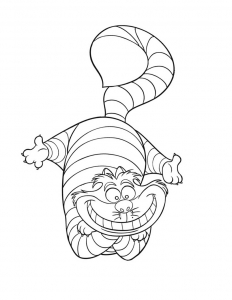 Coloring page alice free to color for kids