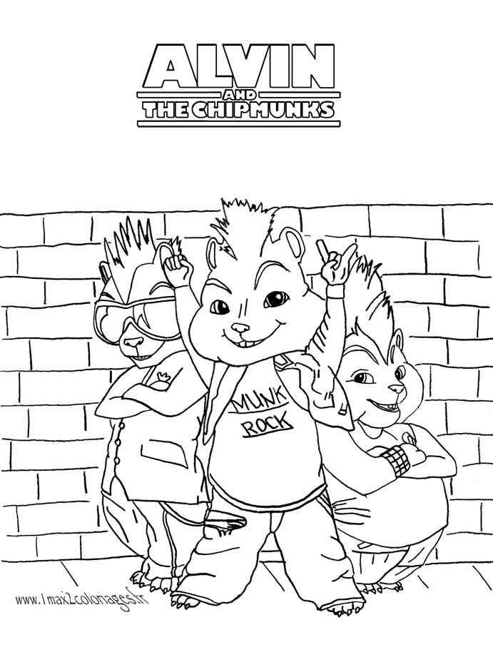 Alvin Free To Color For Kids Alvin Kids Coloring Pages