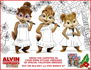Coloring page alvin for children