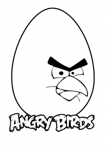 Coloring page angry birds free to color for kids