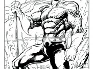 Aquaman Coloring Pages for Kids