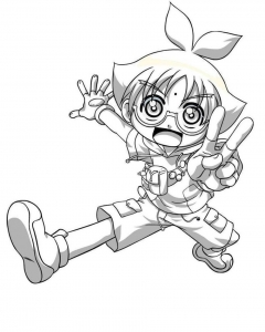 Coloring page bakugan to download