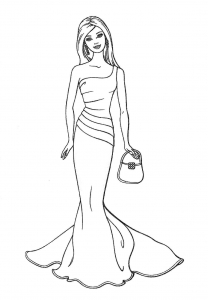 picture relating to Barbie Coloring Pages Printable identified as Barbie - Free of charge printable Coloring webpages for children