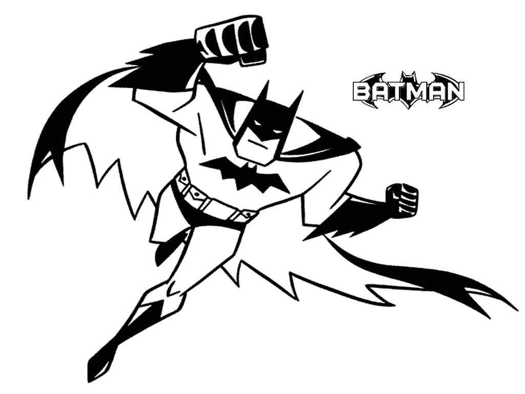 Batman For Kids Batman Kids Coloring Pages