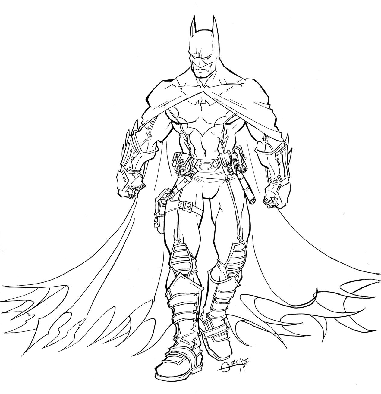 Batman To Print Batman Kids Coloring Pages