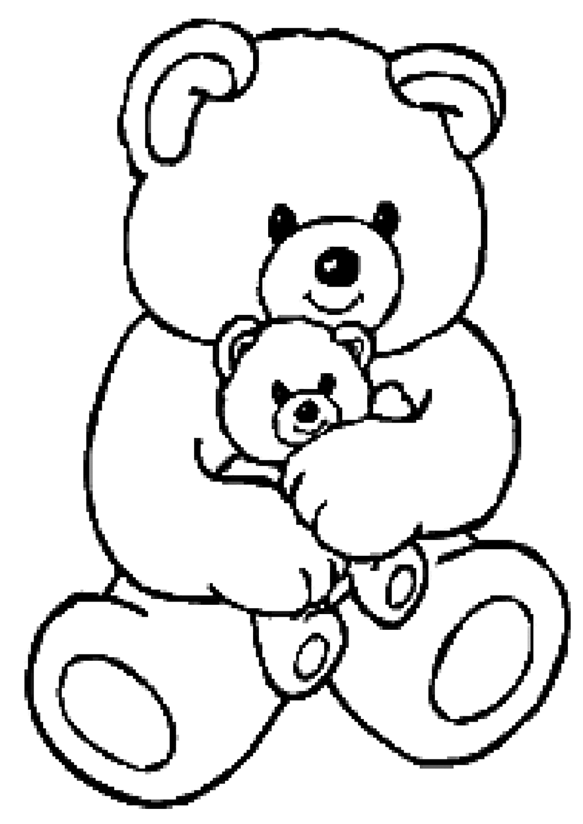 Bears To Download Bears Kids Coloring Pages