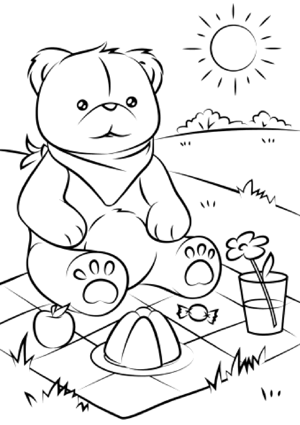 Bears to download - Bears Kids Coloring Pages