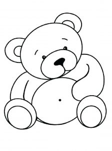 Coloring page bears to print for free