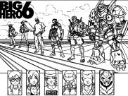 Big Hero 6 Coloring Pages for Kids