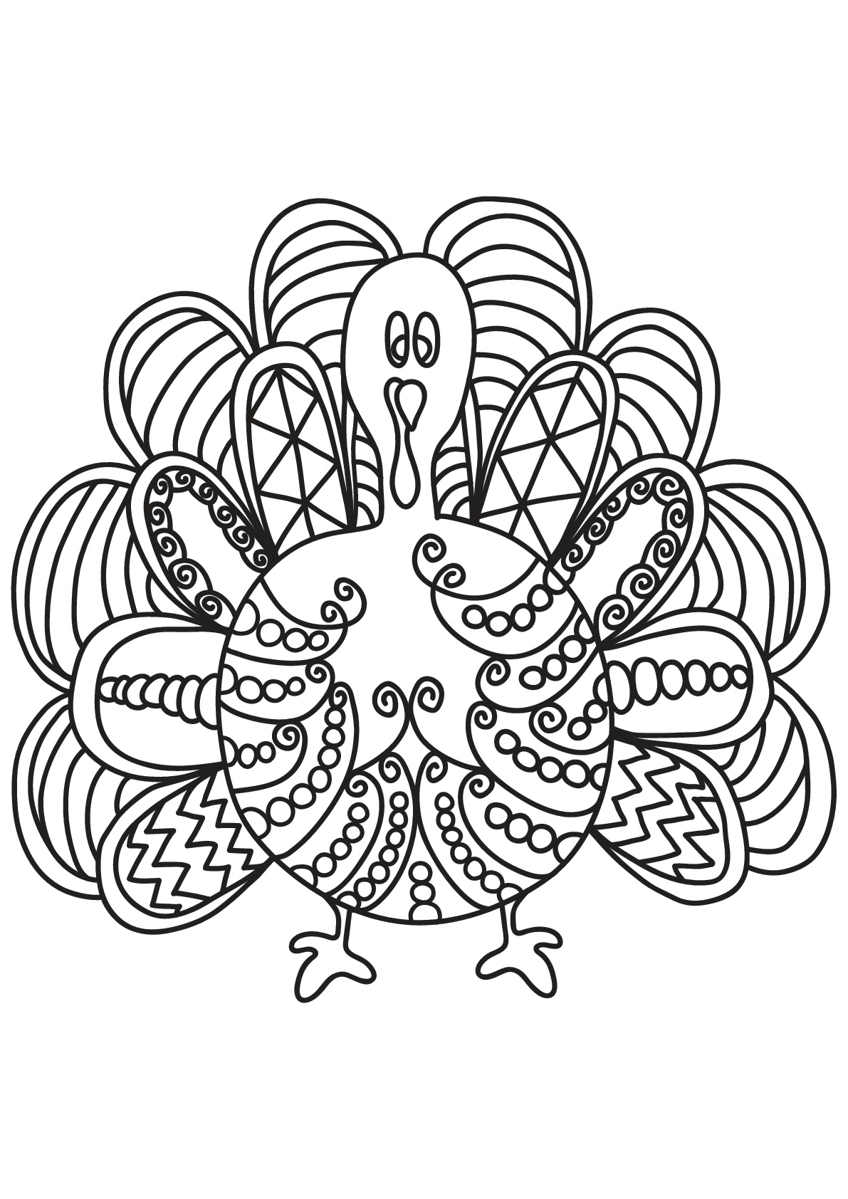 Birds To Color For Kids Birds Kids Coloring Pages