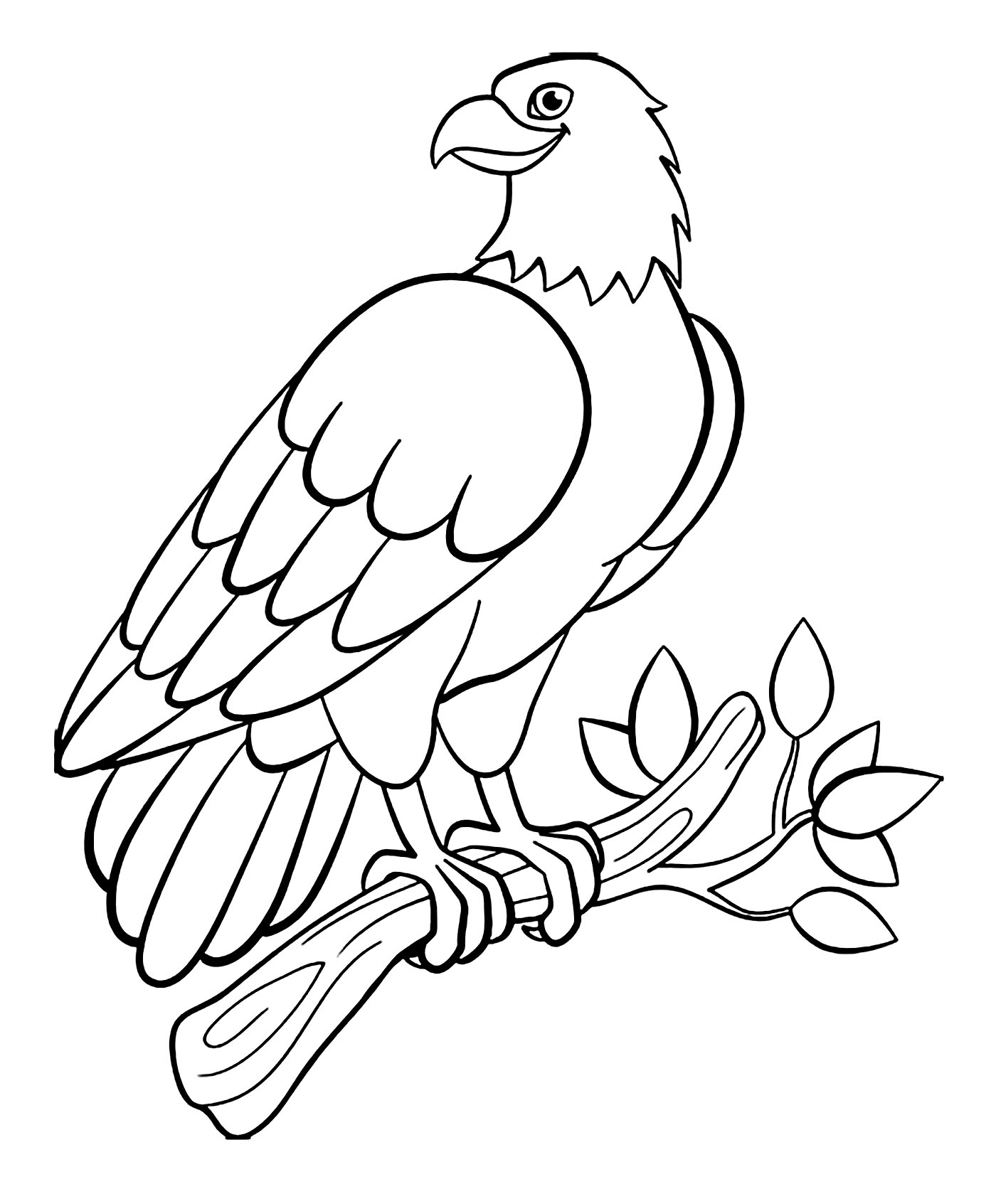 Birds to print - Birds Kids Coloring Pages