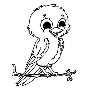 image relating to Free Printable Bird Coloring Pages identified as Birds - Absolutely free printable Coloring internet pages for little ones