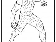 Black Panther Coloring Pages for Kids