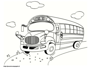 Coloring page car to download for free
