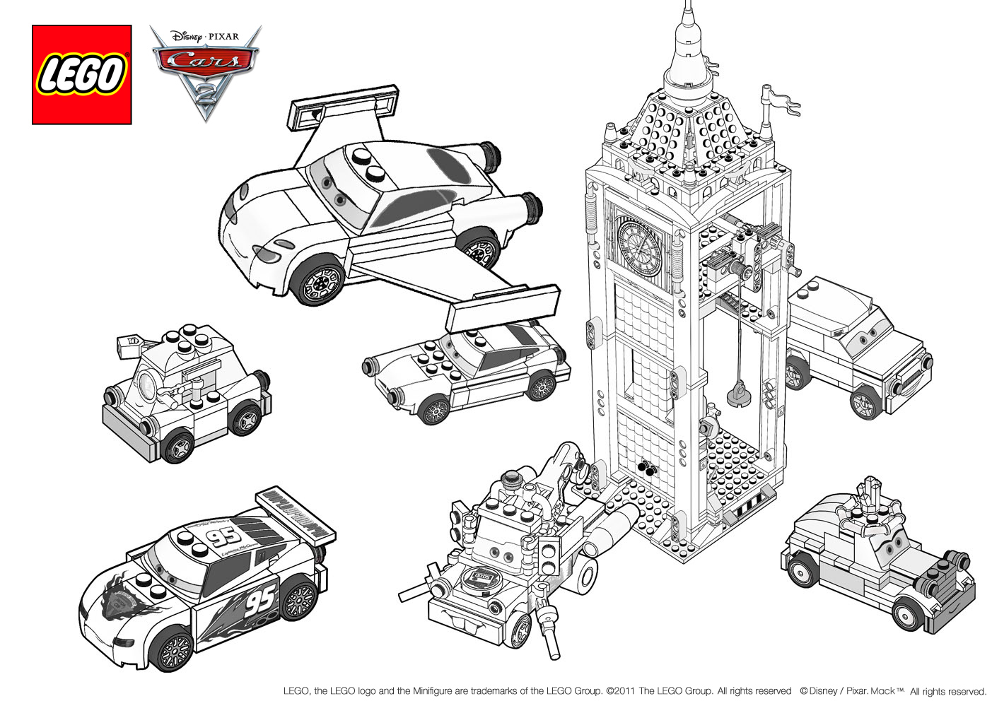Ausmalbilder Cars Finn Mcmissile : Awesome Cars2 Coloring Pages Photos New Coloring Pages Yousuggest Us