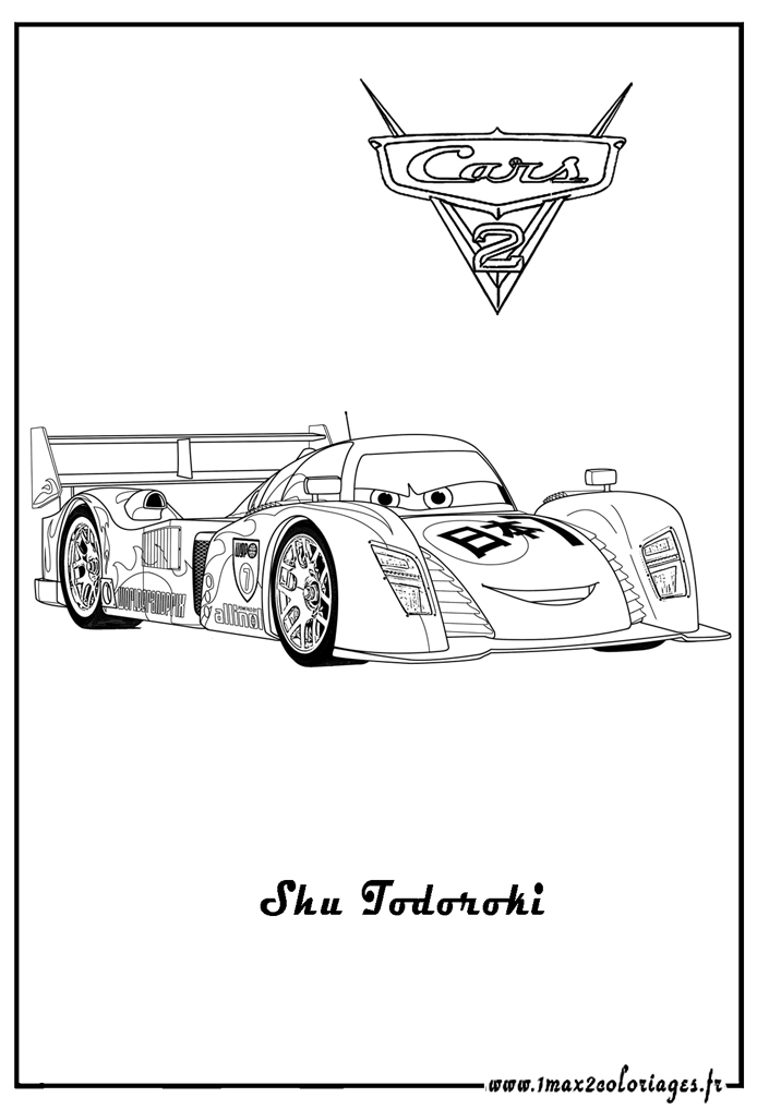 disney cars coloring pages games | Cars 2 free to color for kids - Cars 2 Kids Coloring Pages