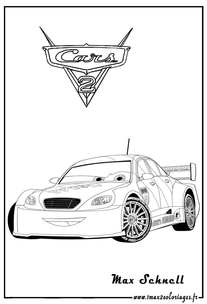 disney cars coloring pages games | Cars 2 free to color for children - Cars 2 Kids Coloring Pages