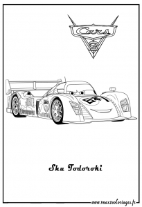 Coloring page cars 2 free to color for kids