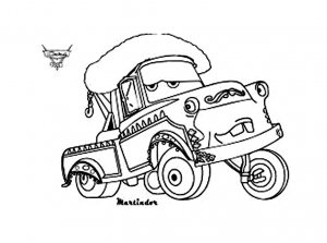 Coloring page cars 2 to download for free