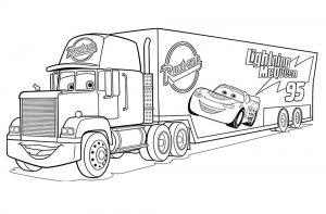 Cars 3 Free Printable Coloring Pages For Kids