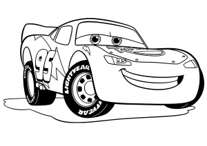 Coloring page cars 3 to print for free