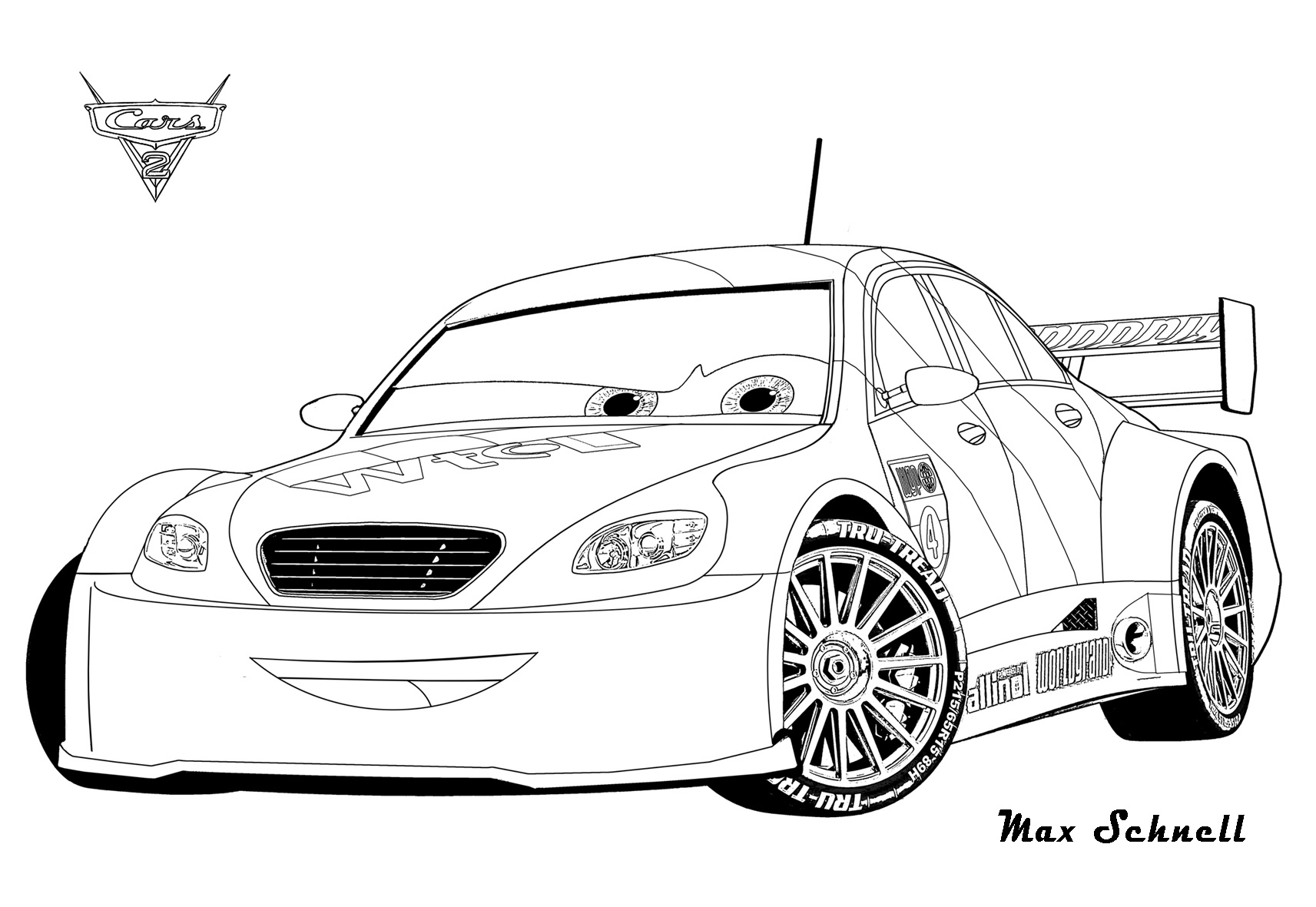 Cars Free To Color For Kids Cars Kids Coloring Pages