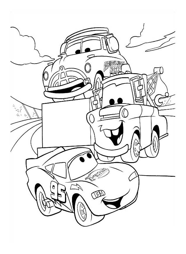 coloring pages cars kids printable | Cars for kids - Cars Kids Coloring Pages