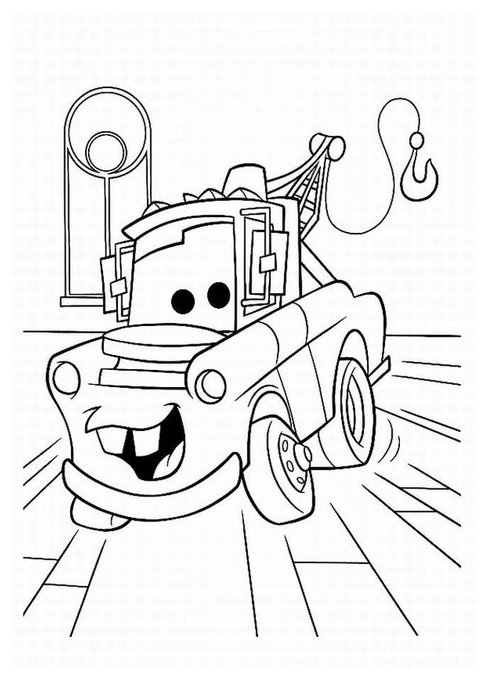 Cars Free To Color For Children - Cars Kids Coloring Pages