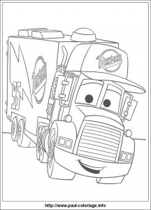 Coloring page cars to print for free