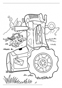Coloring page cars free to color for children