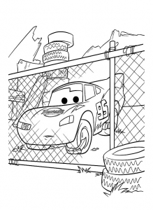 Coloring page cars to download for free
