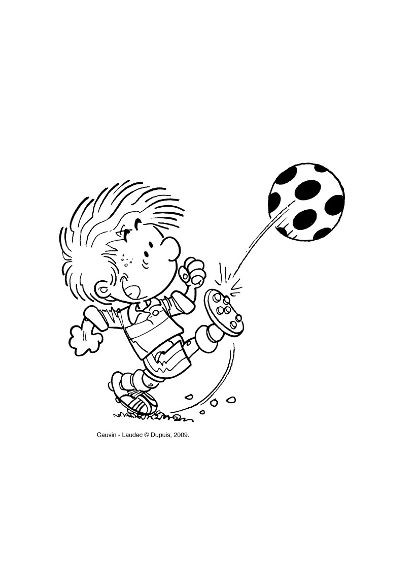 Free Cedric coloring page to download, for children