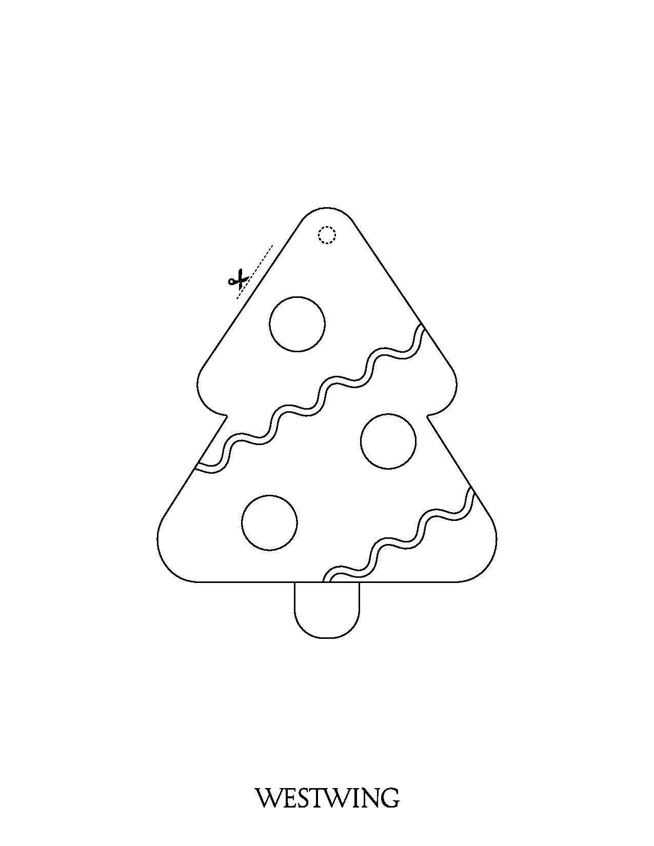Christmas coloring page to print and color
