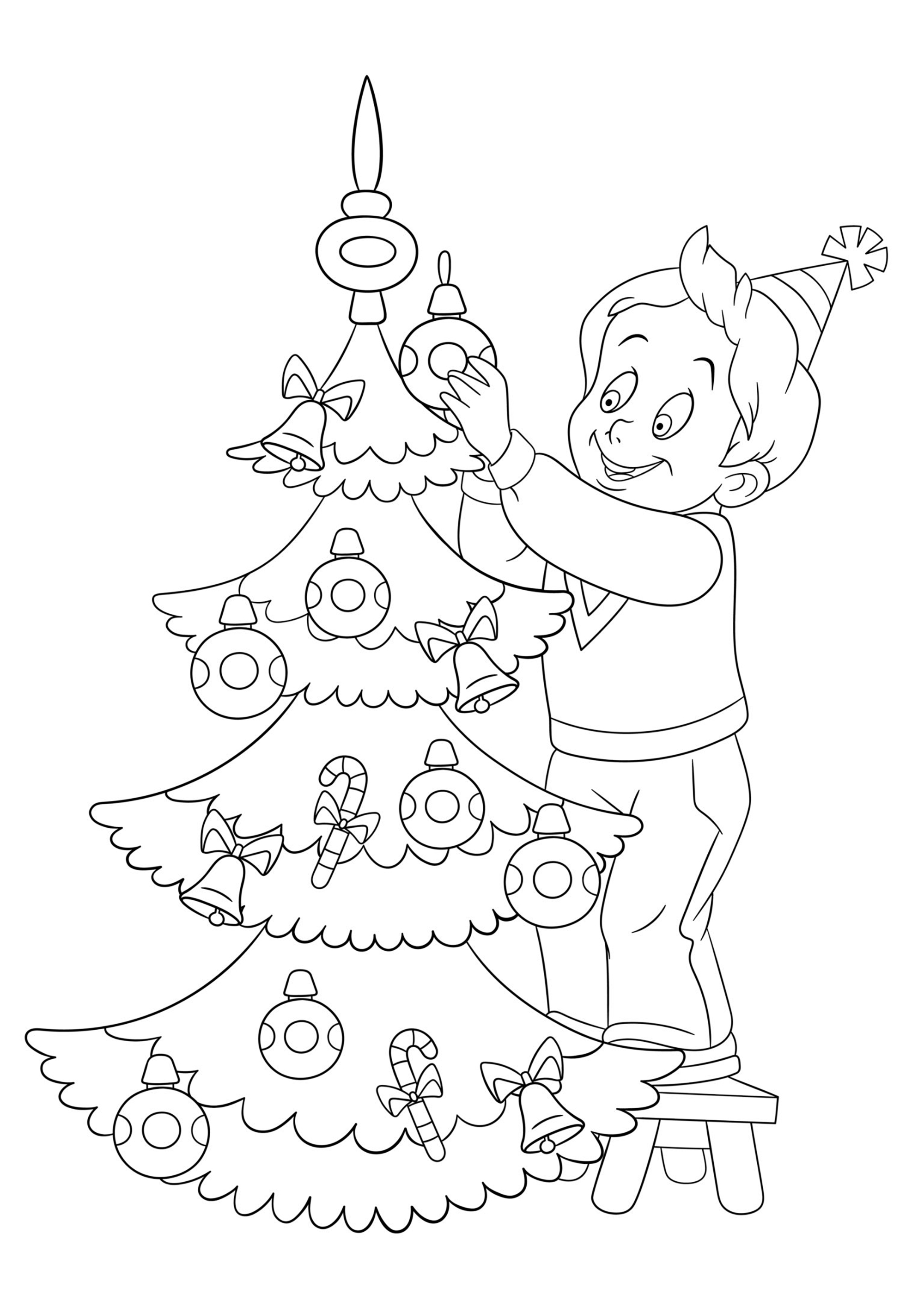 Christmas for children - Christmas Kids Coloring Pages