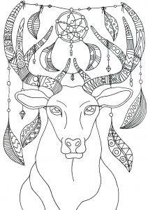 Coloring page christmas to print for free