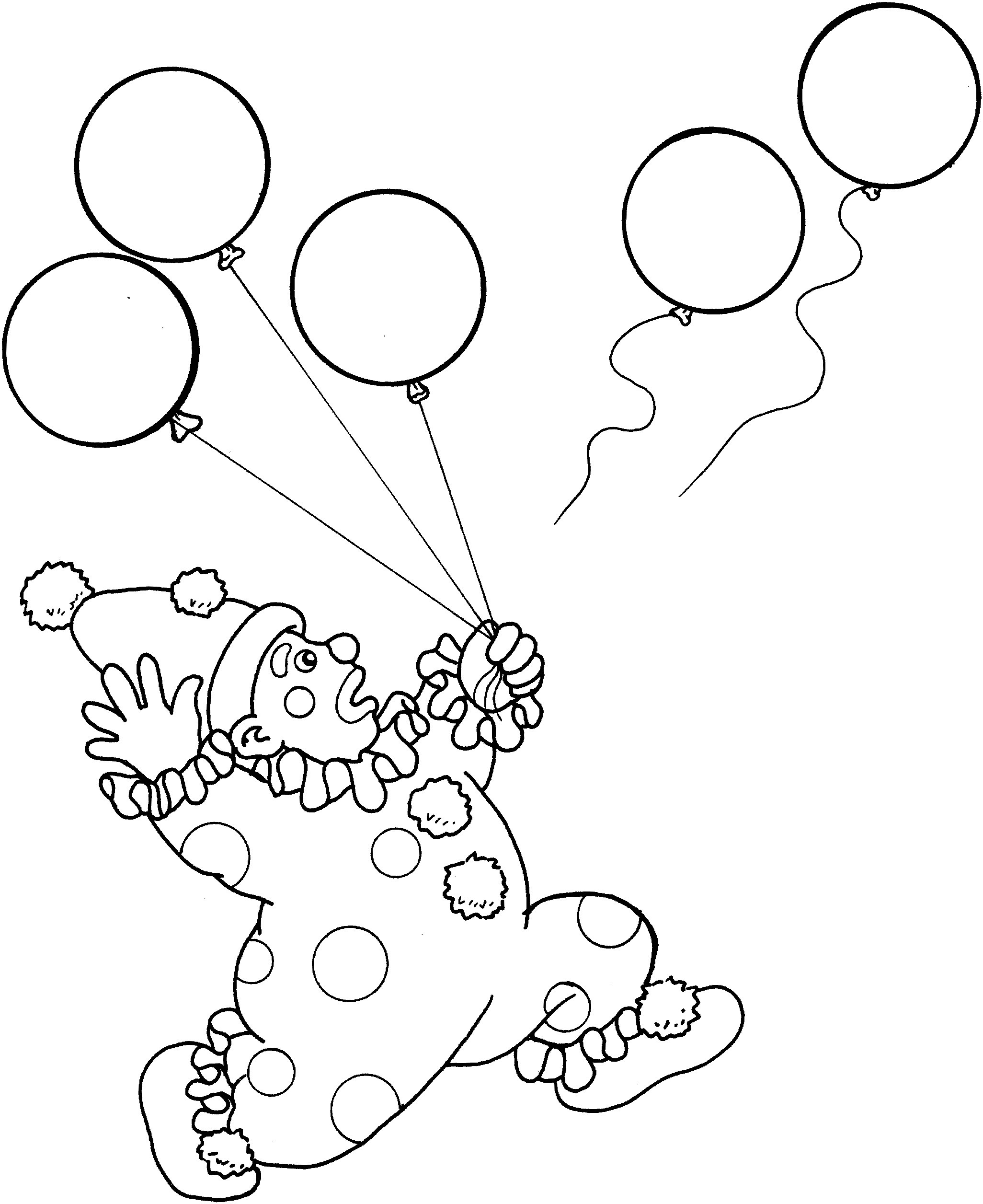 Circus free to color for children - Circus Kids Coloring Pages