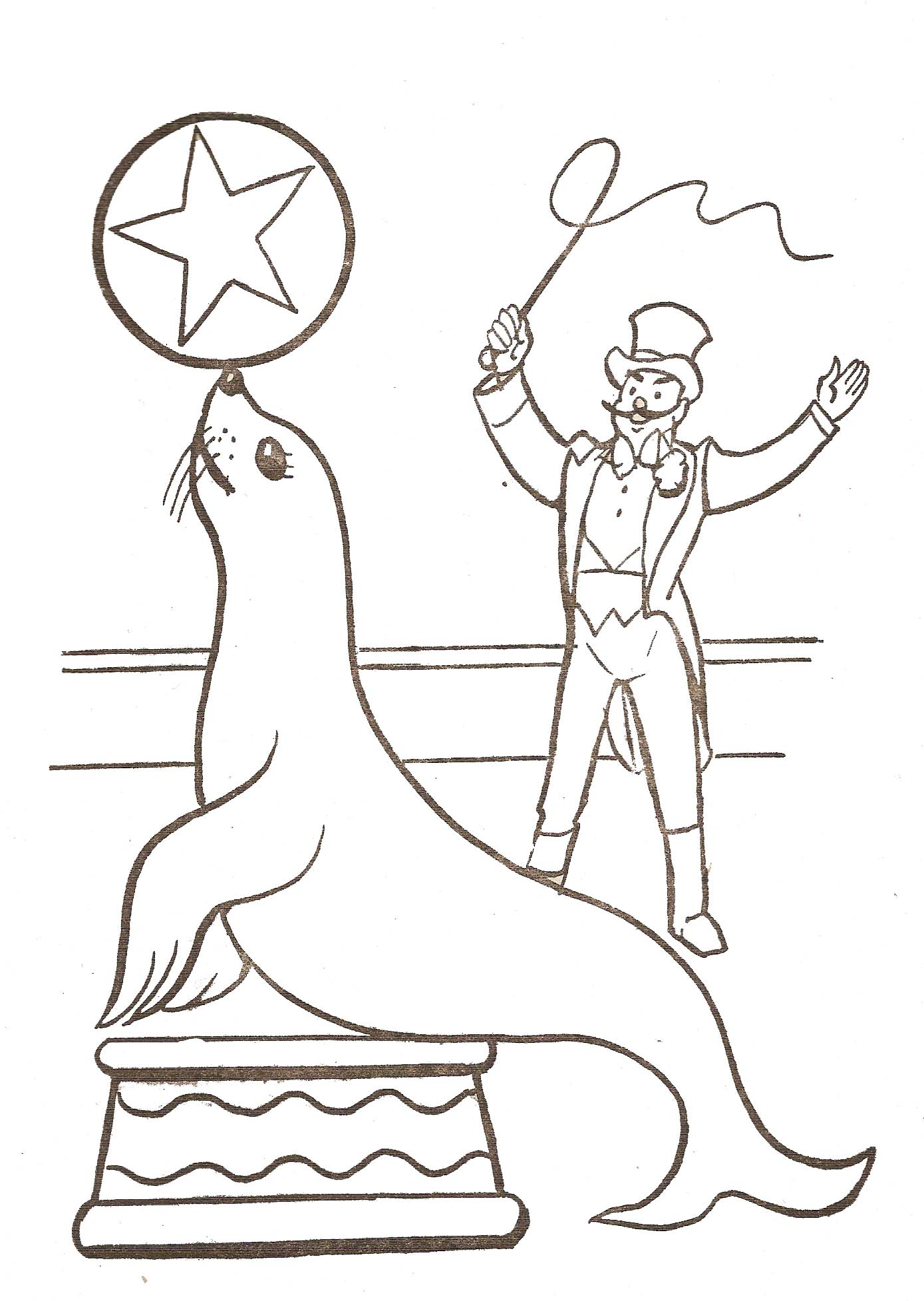 Circus To For Free Circus Kids Coloring Pages