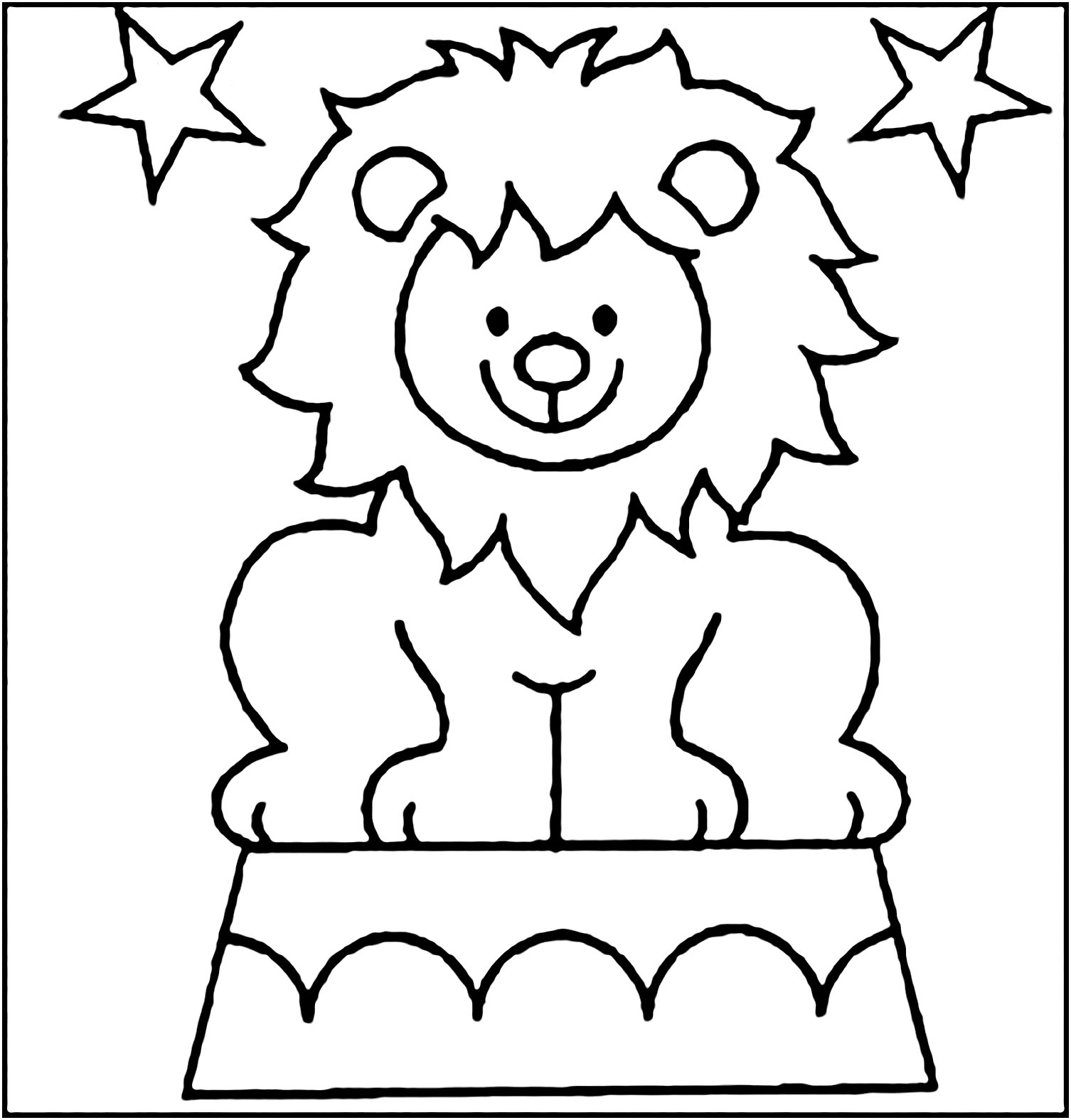Circus to download - Circus Kids Coloring Pages