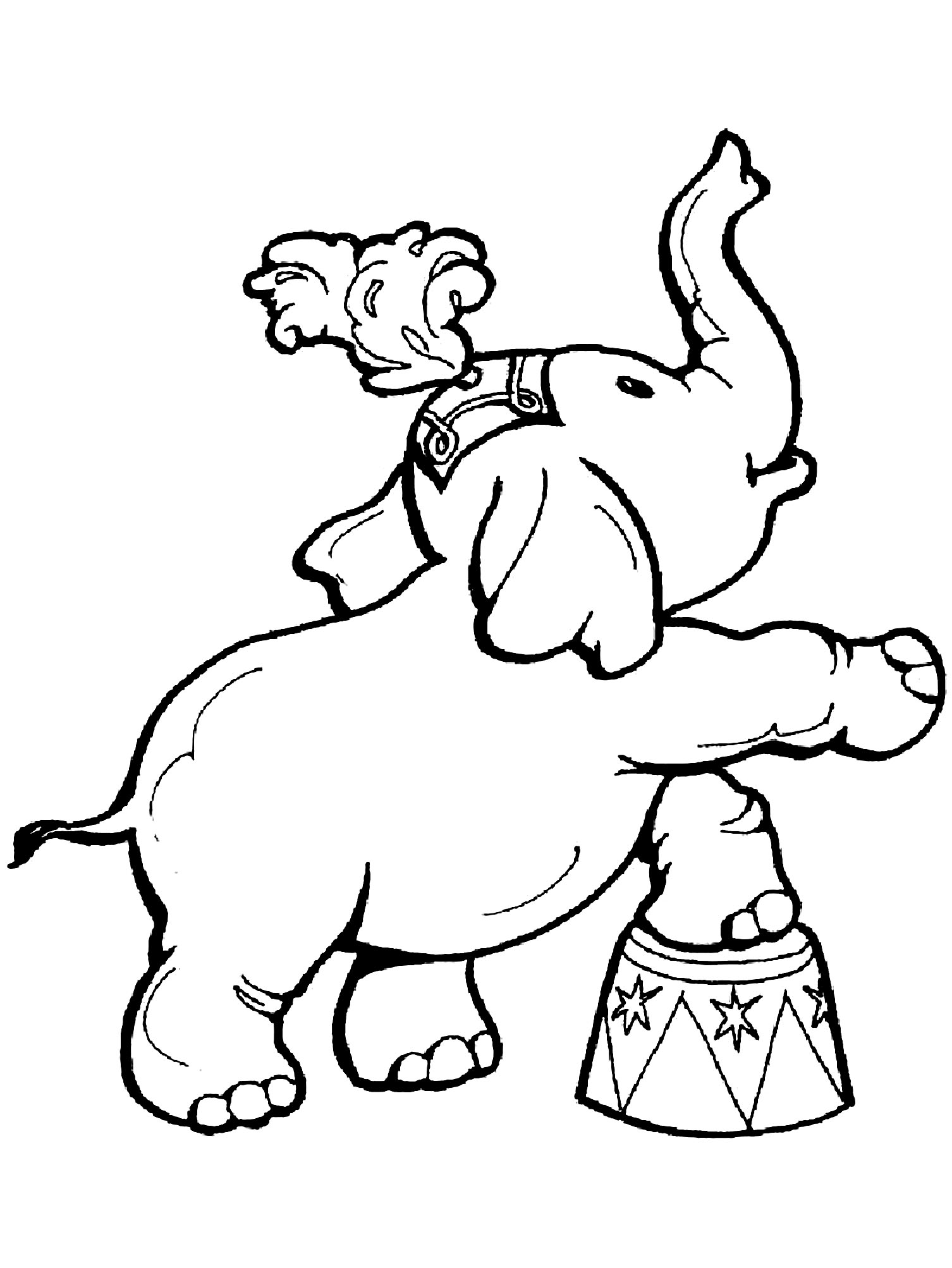 Circus for kids - Circus Kids Coloring Pages