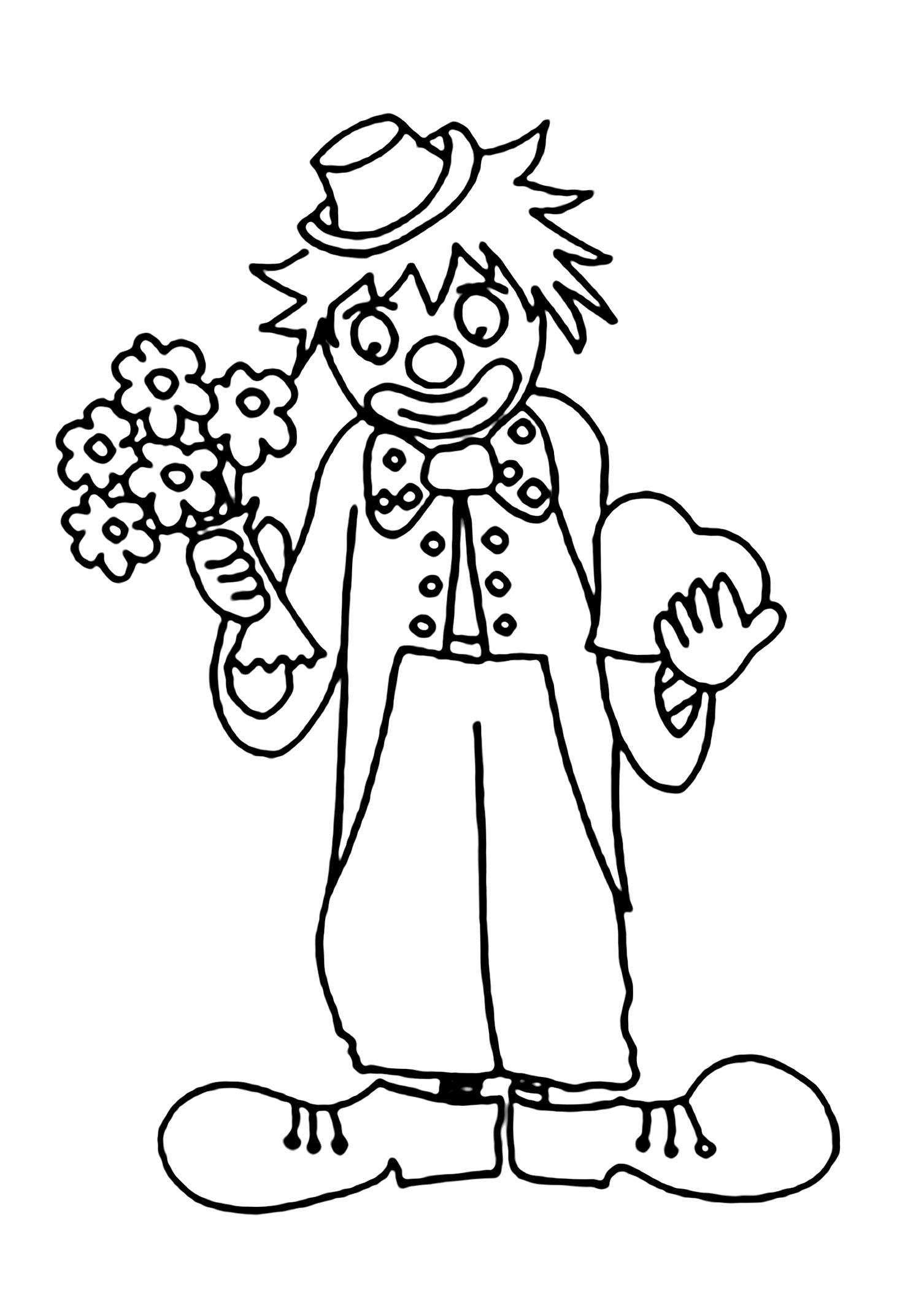 рисунок клоуна грустного карандашом фото статья