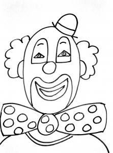 Coloring page circus to download
