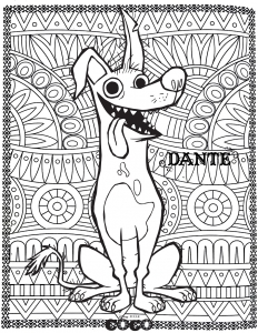 Coloring page coco to download