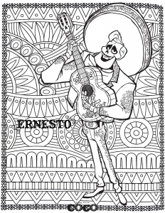 Coloring page coco free to color for children
