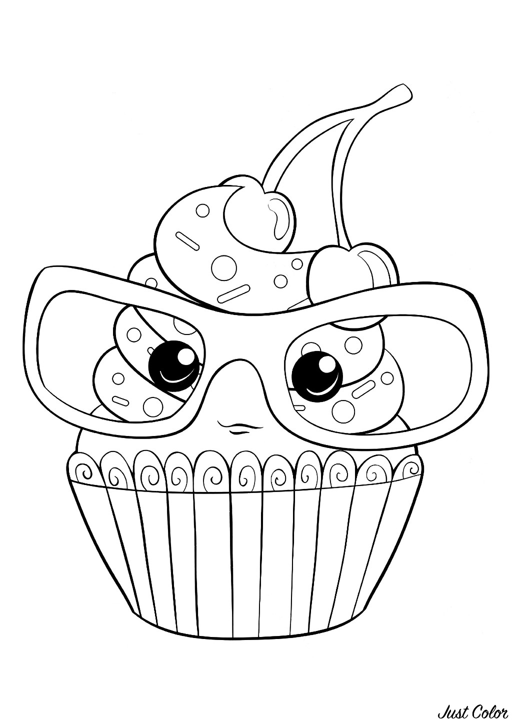 Happy Birthday Cake Clipart - Colouring Pages Of Cake - Png ... | 1448x1024
